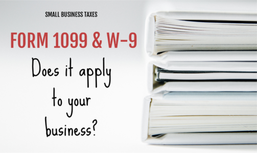 Form 1099 for small business taxes