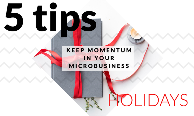 momentum in your microbusiness