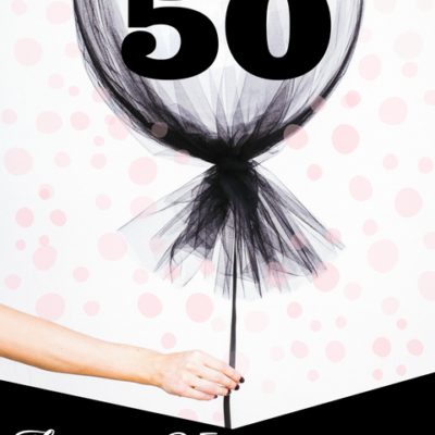 retail sale graphic with balloon